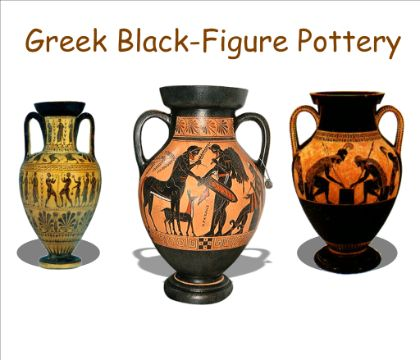 Greek Pottery art lesson for smartboard. Great information and activities.