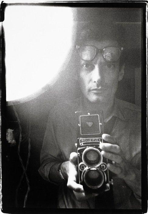 Autorretrato, New York City // Selfportrait, NYC (by Richard Avedon, 1963)