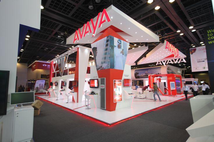 Award Winning Exhibition Stand Design : Avaya award winning stand design