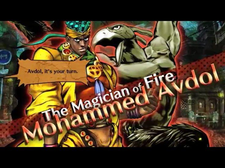 screenshot Mohammed Abdul of the videogame Jojo's All Star Battle