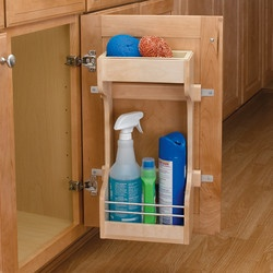 Rev A Shelf Sink Base Door Storage Organizer Could Be Fairly Easy