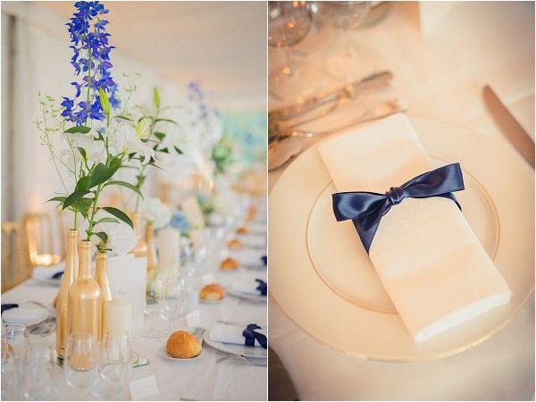 springtime wedding details   Image by Pierre Torset Photography