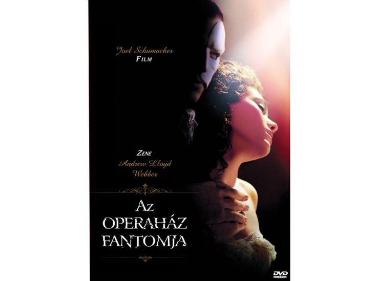 Az operaház fantomja (DVD)
