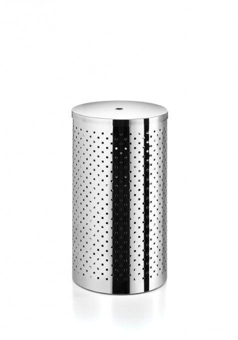 #Lineabeta #Basket #Wäschebehälter 5351.29.29 | #Modern #Edelstahl | im Angebot auf #bad39.de 140 Euro/Stk. | #Italien #Bad #Accessoires #Badezimmer #Einrichtung #Ideen #Gadgets