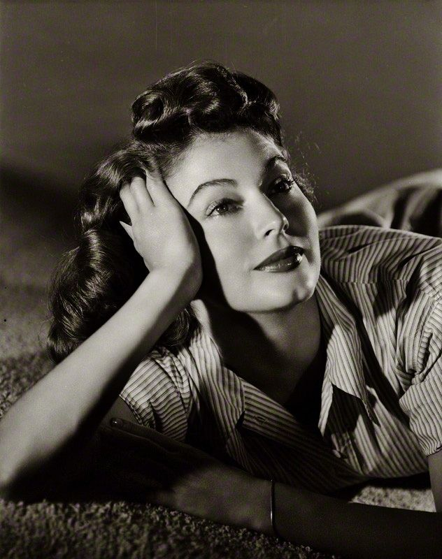Ava Gardner by Clarence Sinclair Bull, c. 1947.