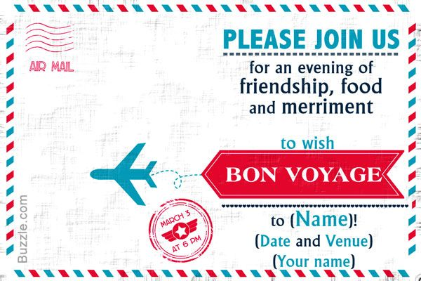 Farewell Party Invitation Wordings                                                                                                                                                     More