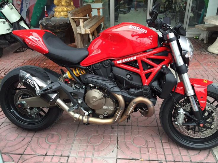 KGL Racing silencer DUCATI MONSTER 821 /1200 /S 14->> - DOUBLE FIRE CARBON