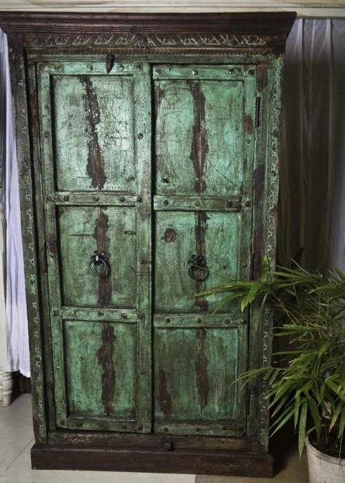 old-green-cupboard-designs.jpg (500×700)