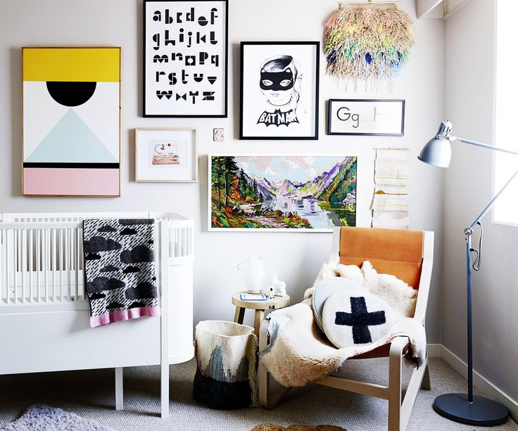 See the gorgeous nurseries these stylish mums have created for their babies and learn their decorating secrets.