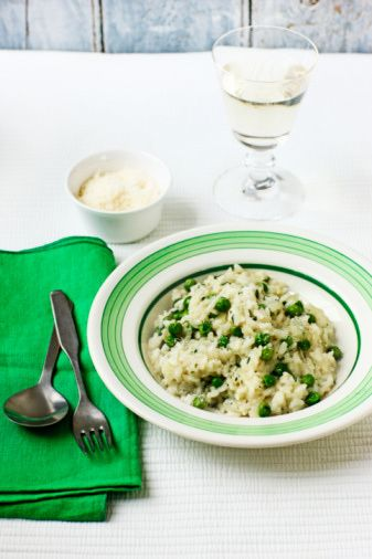 Asparagus Risotto Recipe - Crockpot Risotto - Slow Cooker Risotto