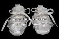 Pantofiori pentru botez pentru fetite LACE