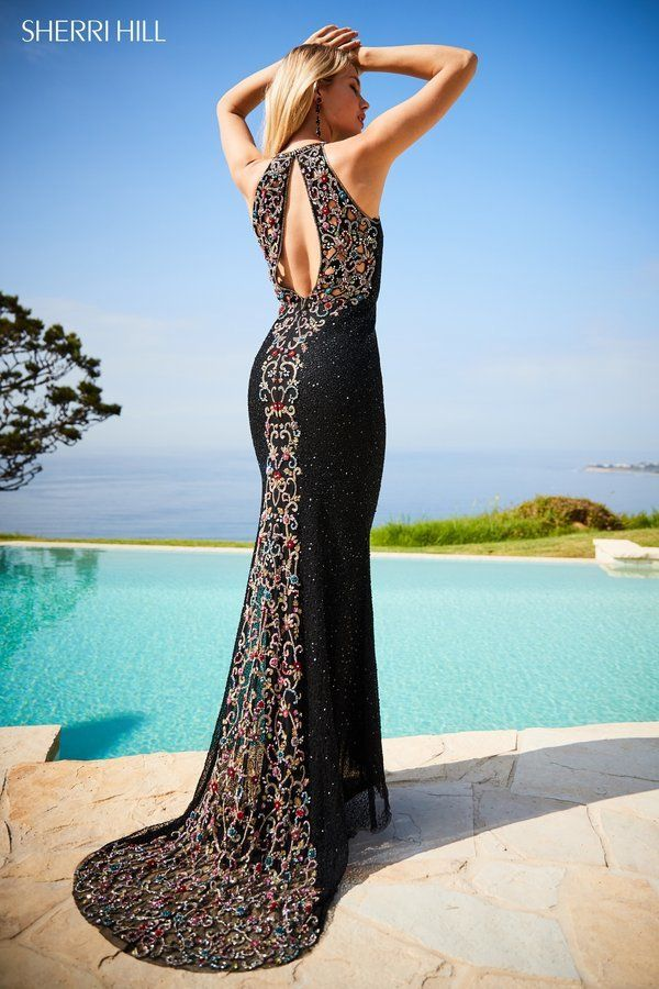 b45fa8abc5 Sherri Hill Style 51739 Black Prom Dress www.bellasalabama.com prom-dresses  sherri-hill