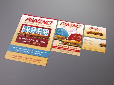 ATMO Designstudio - Visual Branding, Sympathiefigur - Panino Baguetteria