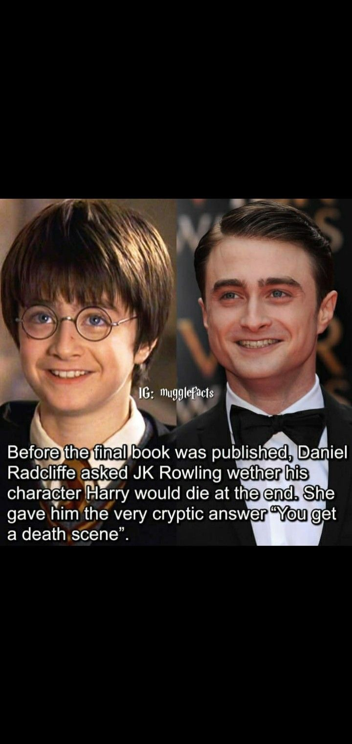 Daniel Radcliffe And J K Rowling Harry Potter Quotes Funny Harry Potter Jokes Funny Friend Memes