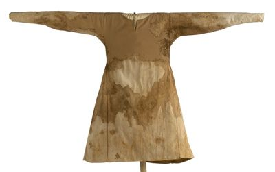Funeral garment of Infanta Maria (d. 1235). Exhumed from the Monastery of Las Huelgas, Burgos. Museo del Traje, Madrid.
