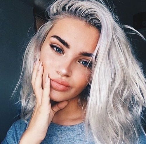 Enjoyable 17 Best Ideas About Platinum Hair On Pinterest Platinum Blonde Hairstyle Inspiration Daily Dogsangcom