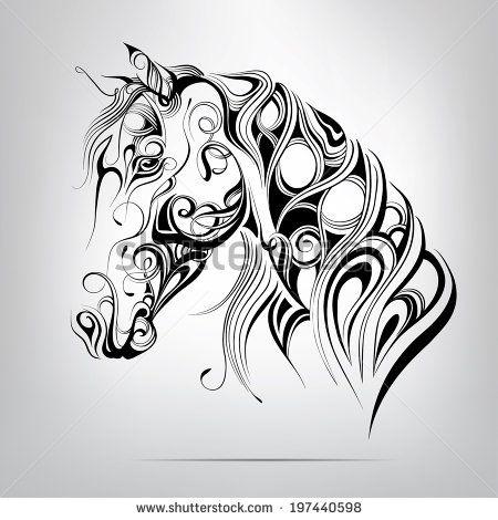 Horse Stok Vektörler ve Vektör Küçük Resmi | Shutterstock