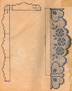 Клевер серветка гачок схема 3