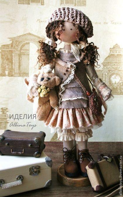 тыквоголовка текстильная кукла