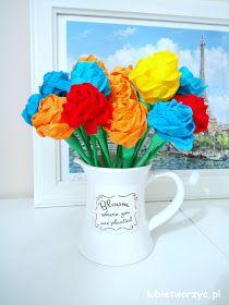 Przepiękne róże z bibuły marszczonej - nowy wpis już na blogu :)  #kwiat #kwiatek #kwiaty #kwiatki #róża #róże #diy #zróbtosam #handmade #tutorial #poradnik #jakzrobić #howto #bibułamarszczona #bibuła #tissuepaper #rose #roses #flower #flowers #craft #crafts #sposóbwykonania #instrukcja #instruction