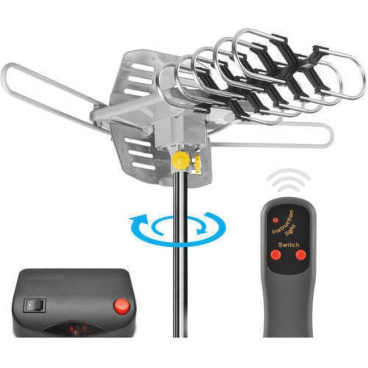 Buy Ematic 150-Mile Range Outdoor HDTV Antenna $25