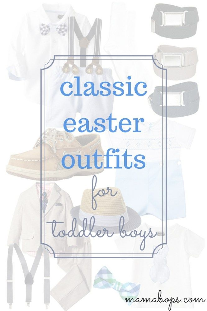 Toddler Boy Easter Outfits - Need Easter outfit inspiration for your little man? Check out this curated list of classic Easter outfits for toddler boys. If you want your little guy to have a traditional Easter look this spring, you won't want to miss these picks!
