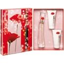 Coffret Perfume Flower by Kenzo EDP Feminino + Body Lotion + Shower Gel:  Encontre na Loja Virtual AromasNet www.aromasnet.com.br