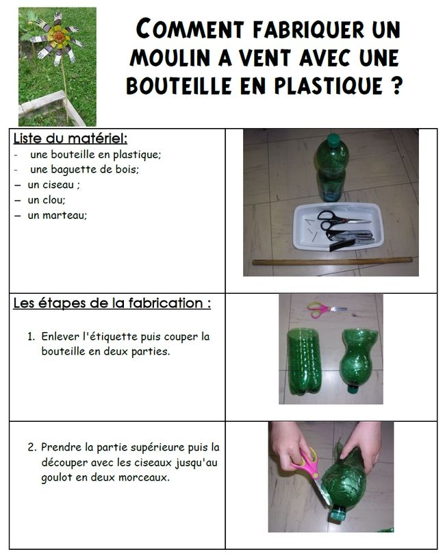 Avec Des Bouteilles En Plastique sur Pinterest  Bouteilles En