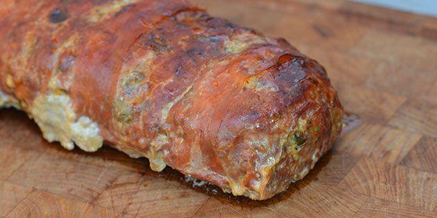 Smagen af italien forstærkes med parmaskinke, der bliver sprødt og lækkert
