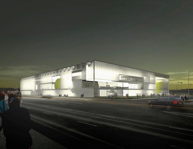 AECOM's Basketball Training Facility Encases a Diverse Range of Program in LA