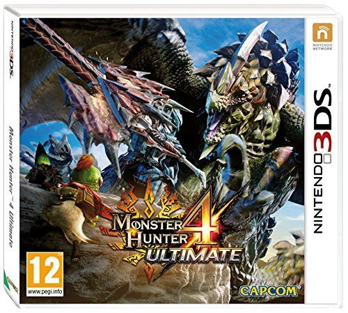 Monster Hunter 4 Ultimate Standard Edition with Felyne Pin - Nintendo 3DS by Capcom