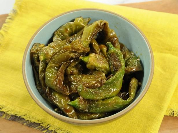 Chiles Toreados: Fried Chiles with Lime-Soy Sauce Recipe | Marcela Valladolid | Food Network