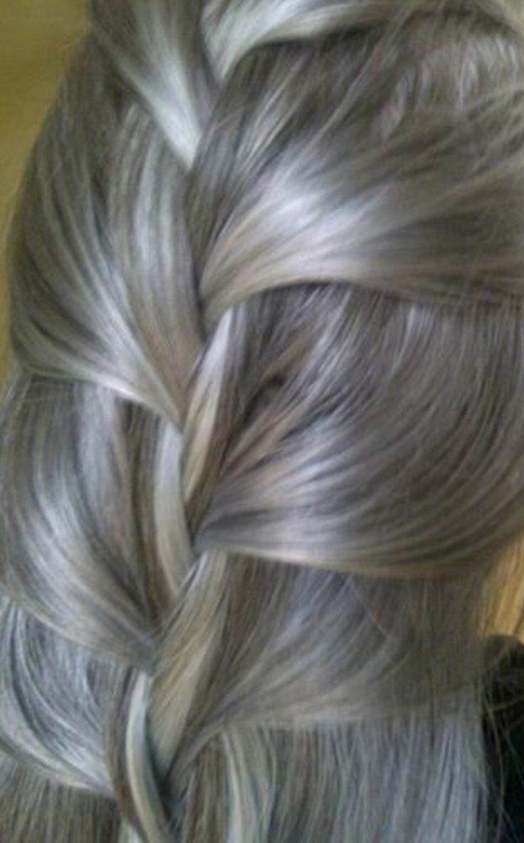 125 best images about grey/silver hair on Pinterest ...