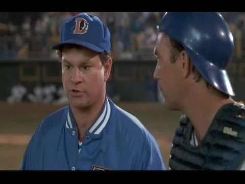 "Bull Durham - ""We're dealing with a lot of shit"" scene. All-time favorite!"