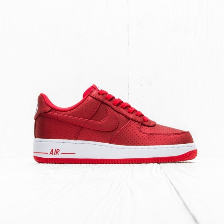 Nike Nike Air Force 1 07 Lv8 Action Red/White Red 718152 607 7 Us Size 7 $192 - Grailed