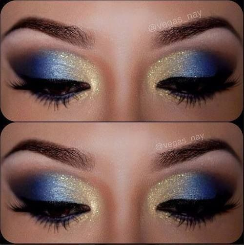 Blue eyes always look so stunning for girls. And it will be more alluring if blended with some gold dust over your eyelids. The blue and gold eye makeup looks are the perfect choice for parties and evens. You can also make a beautiful shimmery blue and gold eyes for you new look. Today, we've[Read the Rest]