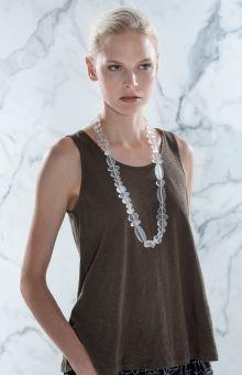 Elk Accessories Bent Bead Necklace