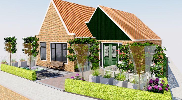 17 beste afbeeldingen over 3d landscaping garden design for Row house garden design