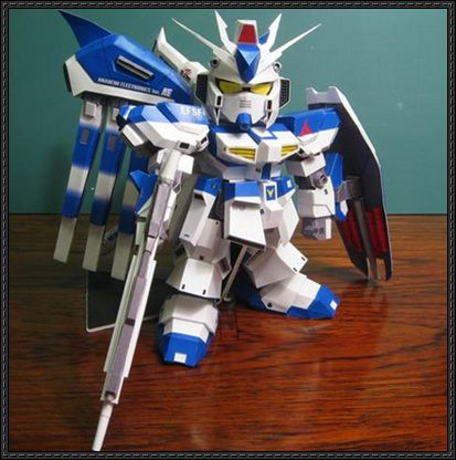 SD RX-93-ν2 Hi-ν Gundam Papercraft Ver.3 Free Download - http://www.papercraftsquare.com/sd-rx-93-%ce%bd2-hi-%ce%bd-gundam-papercraft-ver-3-free-download.html