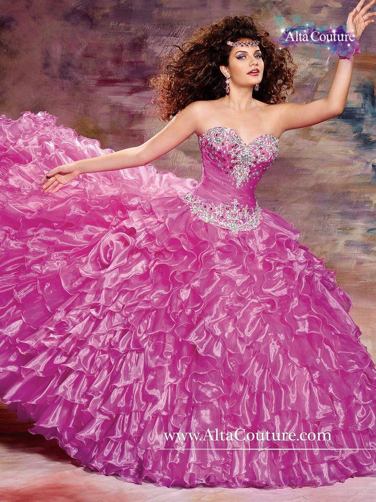 Mejores 26 imágenes de Vestidos de xv en Pinterest | Quinceanera ...