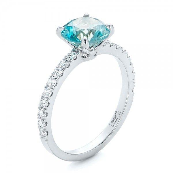 100 best Alternative Engagement Ring Centers images on Pinterest