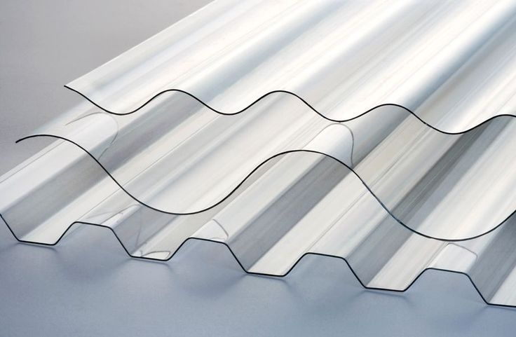 corrugated APET polyester panel Marpet CS Brett Martin Plastic Sheets