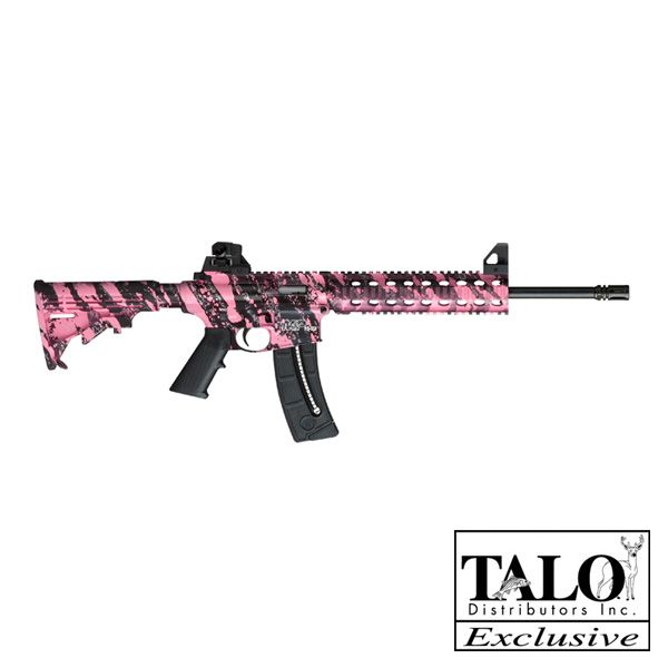 My M & P 15-22 Plinking Rifle: 15 22, Pink Camo, Pink Ar 15, Pink Platinum, Yes Pleas, Ar15, Pink Guns, Thread Barrels, Platinum 22Lr