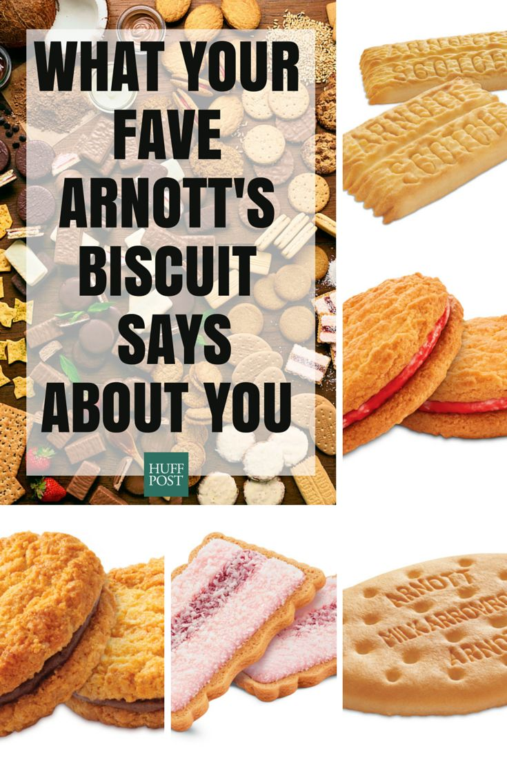 What Your Favourite Arnott's Biscuit Says About You
