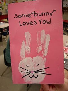 "Some ""Bunny"" Loves You: Handmade Easter Card"