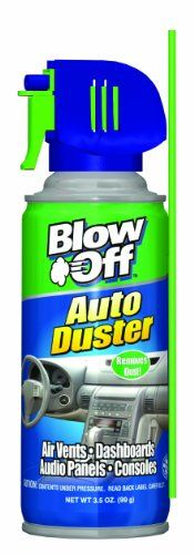 Blow Off 1056 Auto Air Duster - 3.5 oz. * You can get more details by clicking on the image.-It is an affiliate link to Amazon.