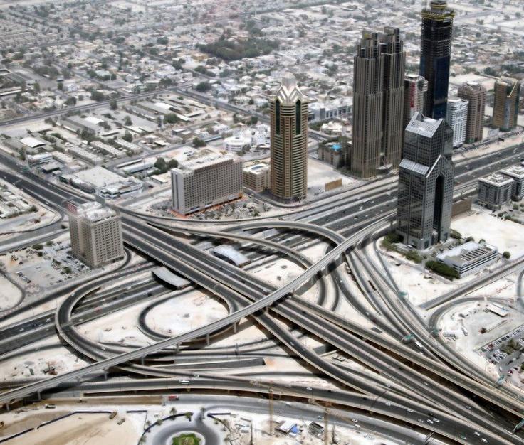 Sheikh Zayed Road 1st Interchange Dubai