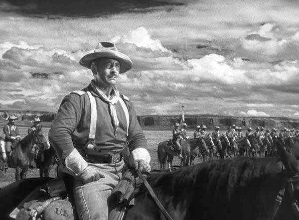 FORT APACHE (1948) - George O'Brien on location in Monument Valley - Directed by John Ford - RKO-Radio Pictures - Publicity Still.