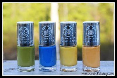 The Body Shop Colour Crush Nail Polish Collection