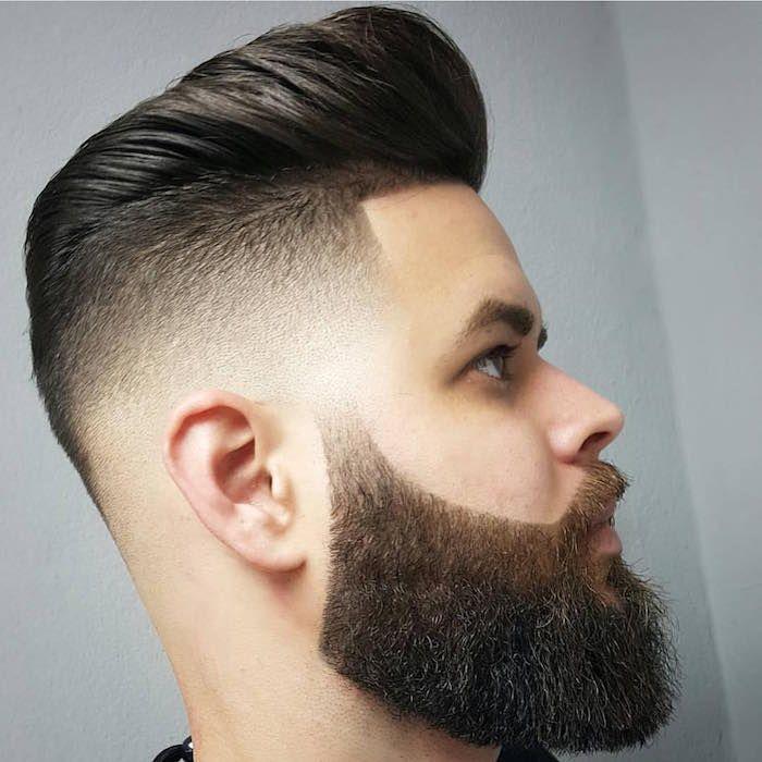 Uomo capelli sfumati